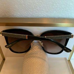 1ca4d69fd975 Jimmy Choo Accessories | Vinny Navy Glitter Sunglasses 17590 | Poshmark